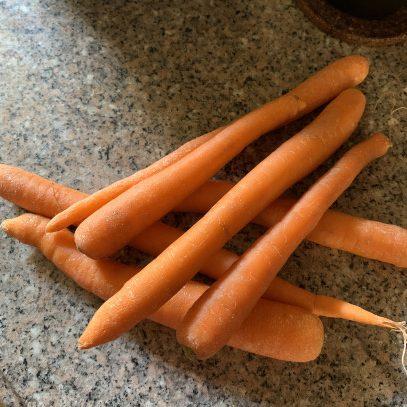 Zanahoria para la caída del cabello