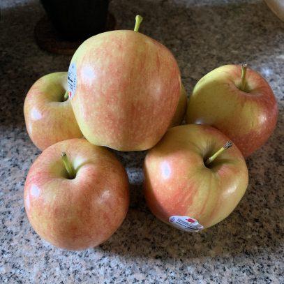 Manzana para la caída del cabello