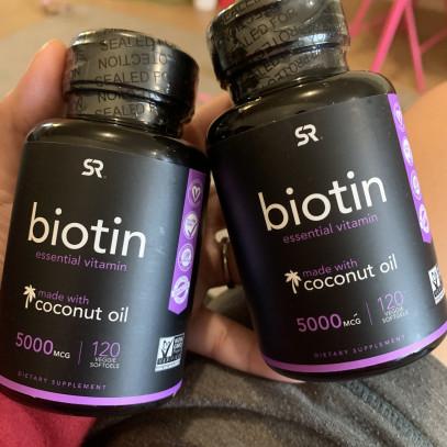 Biotina para piel y cabello