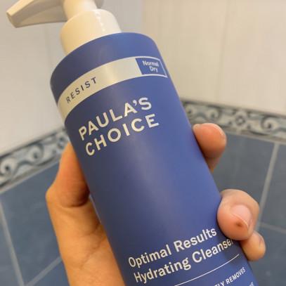 Como utilizar el limpiador Paula's Choice resist