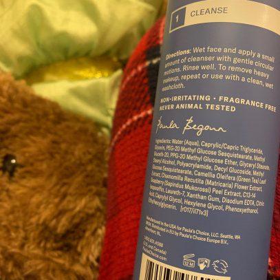 Cuales son los ingredientes del limpiador de Paula's Choice RESIST Normal Dry